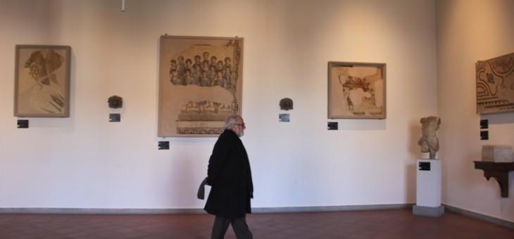 Il presidente dell'AISLO visita le Madri al Museo Campano