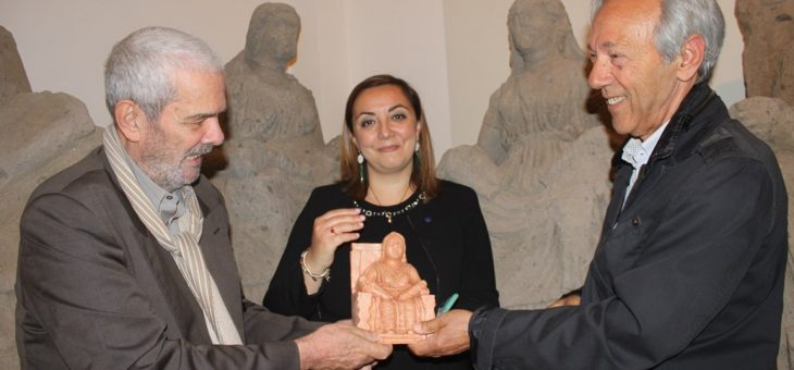 """Isabella Adinolfi, europarlamentare M5S:""""Questa Matuta senza bocca è il simbolo del Museo Campano, senza voce"""""""