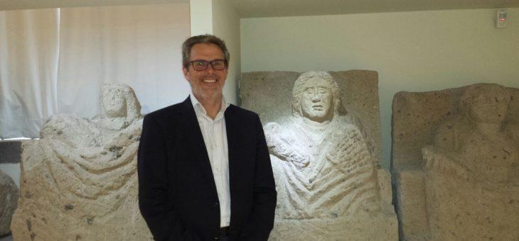 Fritz Froehlich: dal lontano Medio Oriente in visita al Museo Campano