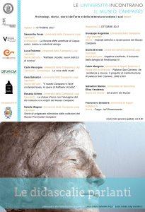 14 – 15 ottobre – Le didascalie parlanti